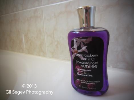 Bath & Body Works Black Rasperry Vanilla Shower Gel