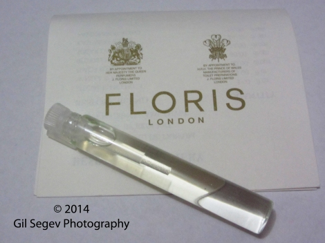 Floris London Amethyst sample