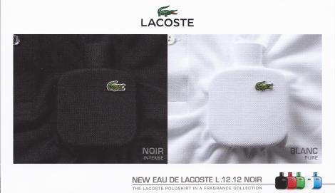 Lacoste L.12.12. Noir-White