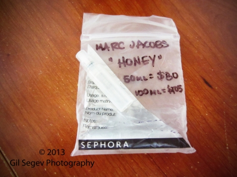 Marc Jacobs Honey sample