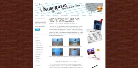 Dolce & Gabanna Light Blue pour Homme review on Nosegasm