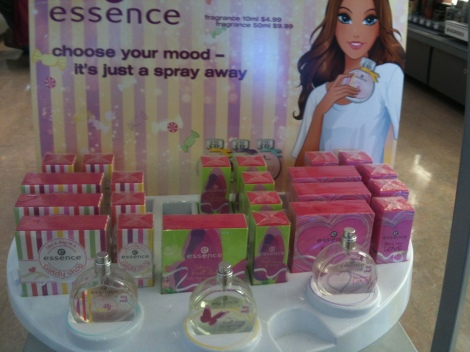 Essence perfumes