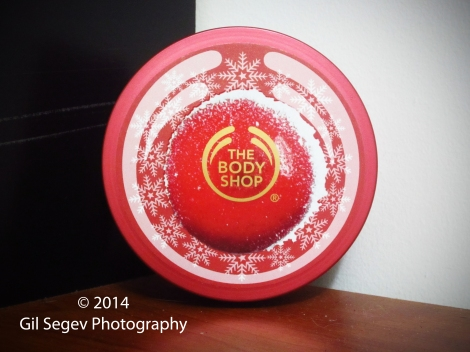 The Body Shop Cranberry Joy Body Butter packaging