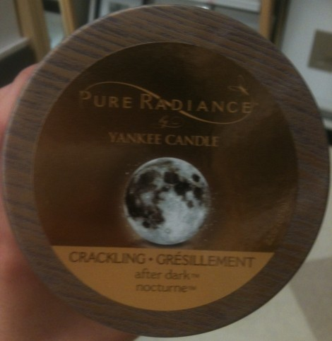 Yankee Candle Pure Radiance After Dark scented candle