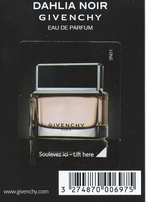 Givenchy Dahlia Noir back