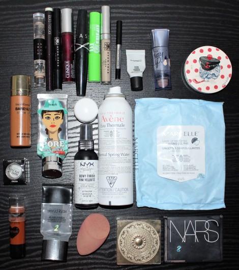 Makeup Empties Summer 2018
